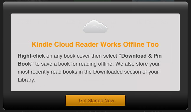 can you download books from kindle cloud reader