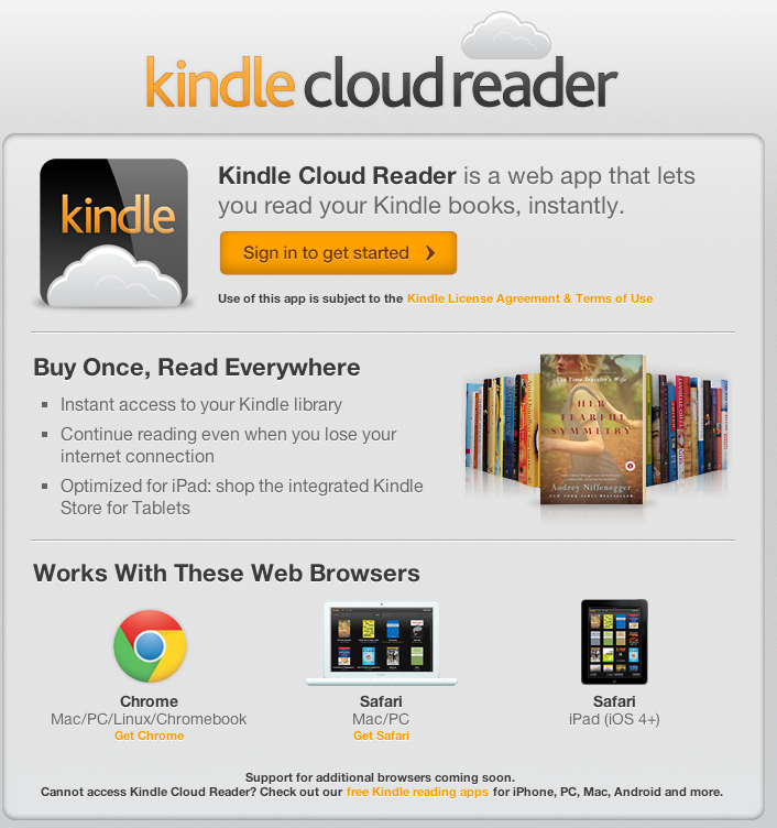 Making sense of the Amazon Kindle Cloud Reader – ACP Blog