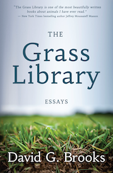 cover of The Grass Library by David G. Brooks